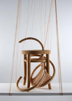 Soojin Kang / knitted stool