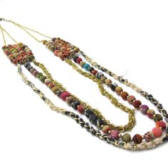 Kantha Collection - Trio Necklace