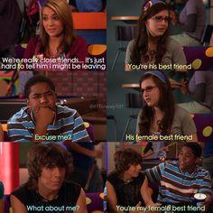 Zoey, Quinn, Michael, Logan