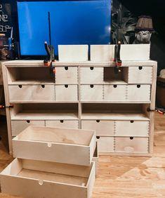 Ikea Furniture Hacks, Ikea Hacks, Ikea Garden Furniture, Ikea Drawers, Apothecary Cabinet, Diy Store, Craft Room Storage, Storage Hacks, Diy Cabinets
