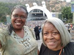 My mother firat trip to the Hollywood Bowl