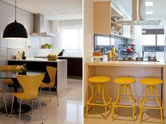 20 ambientes com amarelo