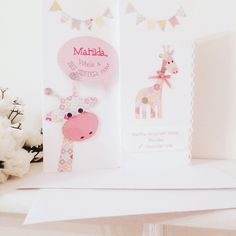 Matching baby and new big sister cards also available for baby boys and new big brothers