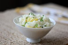 Pineapple Rice with Cilantro and Lime Recipe with jasmine rice, pineapple juice, water, pineapple, kosher salt, green onions, lime juice, chopped cilantro