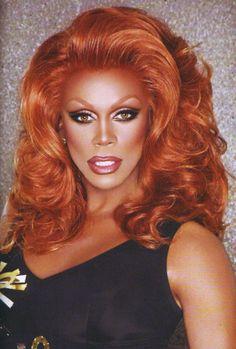 RuPaul- Ebony magazine drag queens black icons African American culture