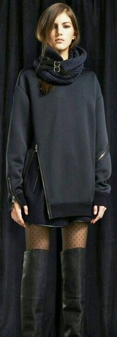 Black chaquet