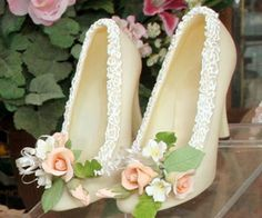 I'm not joking - these are edible shoes. But how many would it be if they were real too!