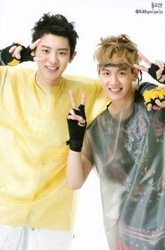Chanyeol and Baekhyun  ♡ #EXO