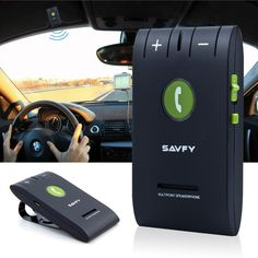 Multifunctional Universal Dual-Standby Sun-visor Wireless Bluetooth Car Kit Hands free Speakerphone Music Play