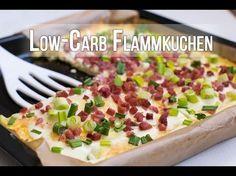 Flammkuchen Rezept - Wie das Original, aber Low Carb!