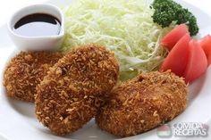 Receita de Croquete de carne e batata em receitas de salgados, veja essa e outras receitas aqui!