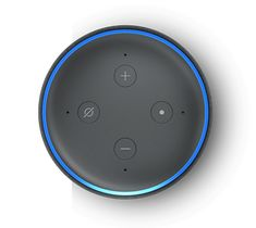 Echo Dot is a voice-controlled smart speaker with Alexa, perfect for any room. Just ask for music, news, information, and more. You can also call almost anyone and control compatible smart home devices with your voice. Veggie Fajitas, Echo Speaker, Smart Lights, Alexa App, Alexa Skills, Alexa Device, Track Workout, Amazon Echo, Friends