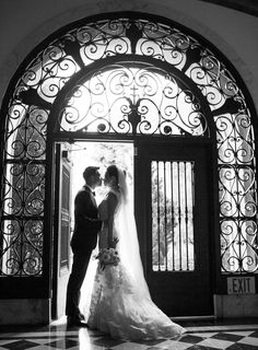 Chelsea and Dave Southern California Wedding at Vibiana, black and white photograph, bride and groom poses, wedding, couple poses, wedding photography, stunning couple Samuel Lippke Studios  http://loveluxelife.com/love-at-first-site-vibiana/