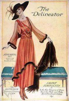 vintage delineator magazine - Google Search