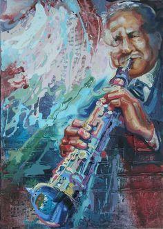 Painted by Dmitri Miletskii