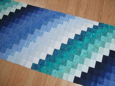 Last Tuesday I had a few guild members over to my place to start working on the guilds Bargello raffle quilt. We were all surprised at jus. Bargello Quilt Patterns, Bargello Quilts, Jellyroll Quilts, Scrappy Quilts, Quilt Block Patterns, Quilt Blocks, Ocean Quilt, Braid Quilt, Watercolor Quilt