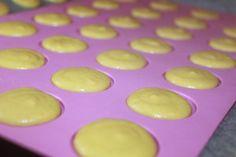Franske makroner med lemoncurd