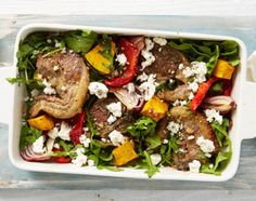 One-Pan Mediterranean Lamb Chops