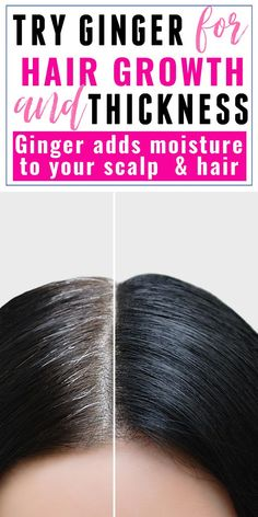 This ginger shampoo is absolutely amazing! It completely cleared my dandruff and made my hair grow back stronger and thicker! My hair has been thinning recently so I'm so glad i've discovered this!! If you want your hair to grow long and thick try ginger - it's a brilliant natural remedy for hair growth! #hair #hairgrowth Hair Mask For Growth, Hair Growth Treatment, Hair Growth Tips, Hair Care Tips, Hair Growing Products, Hair Products, Homemade Hair Spray, Hair Tool Organizer, Hair Secrets