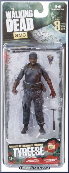 MCFARLANE THE WALKING DEAD SERIES 3 DARYL DIXON COLLECTIBLE FIGURE PONCHO BLIND