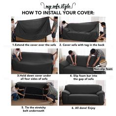 Solid Sofa Cover – The Couch Rescue Sofa Covers, Pillow Covers, Couch And Loveseat Set, Old Sofa, Pet Dander, Sofa Sale, Dust Collection, Jacquard Fabric, New Furniture