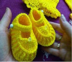 1ч.Пинетки туфельки крючком для новорожденного.Crochet and knitting(hobby) how to crochet a kimono top tutorial