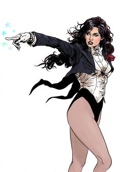 Image uploaded by WONDER WOMAN. Find images and videos about DC, dc comics and zatanna on We Heart It - the app to get lost in what you love. Batgirl, Catwoman, Nightwing, Zatanna Dc Comics, Arte Dc Comics, Dc Comics Characters, Female Characters, Comic Books Art, Comic Art