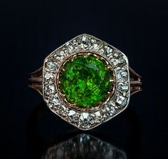 Hey, I found this really awesome Etsy listing at https://www.etsy.com/listing/233563776/rare-almost-3-carat-russian-demantoid
