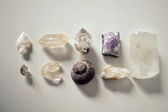 Crystals and Fossils Note Cards - Natural History Photography of Desert  Rocks and Rough Minerals and Quartz