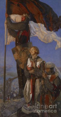 Crusades Painting - Crusaders Sighting Jerusalem by Edwin Austin Abbey Medieval Knight, Medieval Art, European History, Art History, Edwin Austin Abbey, Ouvrages D'art, Classic Paintings, Pre Raphaelite, Wow Art