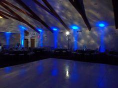 Uplights - blue - bar bat mitzvah - DB Creativity - laura@dbcreativity.com
