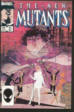 The New Mutants Comic Book #23 Marvel Comics 1985 VERY FINE//NEAR MINT UNREAD