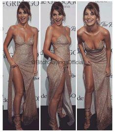 Vestido de gala sensual Elegant Dresses, Pretty Dresses, Sexy Dresses, Beautiful Dresses, Formal Dresses, Mode Outfits, Dress Outfits, Fashion Outfits, Sexy Outfits