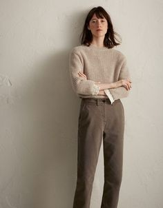 Women's Casual Fashion Simple Outfits, Trendy Outfits, Fashion Outfits, Womens Fashion, Fashion Trends, Look Fashion, Winter Fashion, Look 2018, Moda Chic