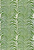 Zebra Palm Linen Print in Jungle from Schumacher