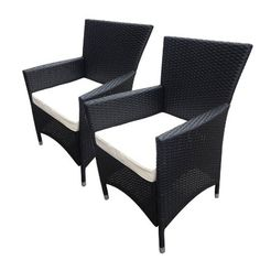 4pc rattan garden furniture set black luxury leather beds beds