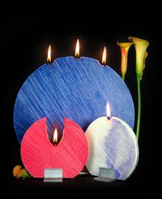 Very elegant candles