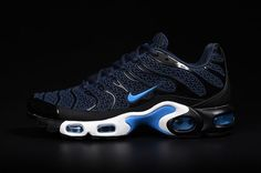 reputable site 7a9f1 52994 Fashion sneakers are available for you in our Air Max Tn Men online store! Air  Max Tn Mens Running Shoes Black Blue White are of great quality and have a  ...