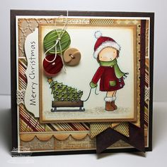 Stamping A Latte: MFT Creative Challenge: Christmas In July!