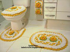 Isabel Crochê : Jogo de banheiro Maravilha