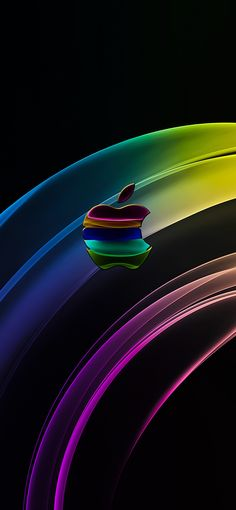 Apple Logo Wallpaper Iphone, Iphone Homescreen Wallpaper, Phone Wallpaper Images, Iphone Logo, Black Wallpaper, Mobile Wallpaper, Wallpapers Wallpapers, Cool Wallpapers For Phones, Pretty Wallpapers
