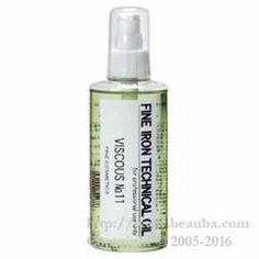 http://www.beauba.com/products/detail.php?product_id=2275 Sakamotokoseido Fine Iron Technical Oil Viscous #11. #AdditiveAgents #PreTreatment  Spread to whole of hair before hair iron treatment. The slightly sticky oil that evenly convey the hair iron heat to extinguish slip.