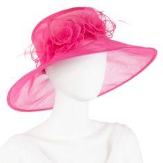 Floral Organza Derby Hat  found at @JCPenney