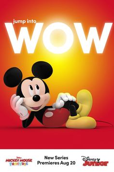 Watch the new series Mickey Mouse Funhouse starting August 20th on Disney Junior! Disney Junior, Baby Disney, Disney Frozen, Classic Cartoon Characters, Classic Cartoons, Disney Characters, Disney Princess Cartoons, Going Insane, Apple Wallpaper