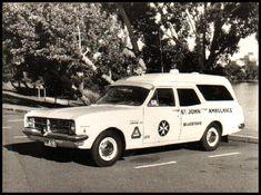 Old Holden HK Ambulance