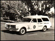 Old Holden HK Ambulance
