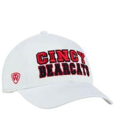 Top of the World Cincinnati Bearcats Teamwork Cap - White Adjustable