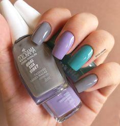 Nail Arts, Beauty Hacks, Nails, Manicures, Nail Polish, Instagram, Makeup, Beautiful, Style