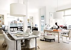 Work here... Office of Designer Suzanne Kasler //  photo by Erica George Dines from Atlanta Homes & Lifestyle