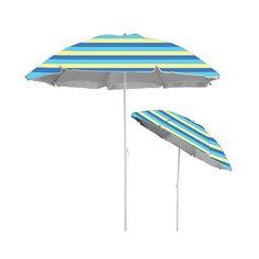 Caribbean Joe  Beach Umbrella with UV Protection (333.815 IDR) ❤ liked on Polyvore featuring home, outdoors, patio umbrellas and caribbean joe